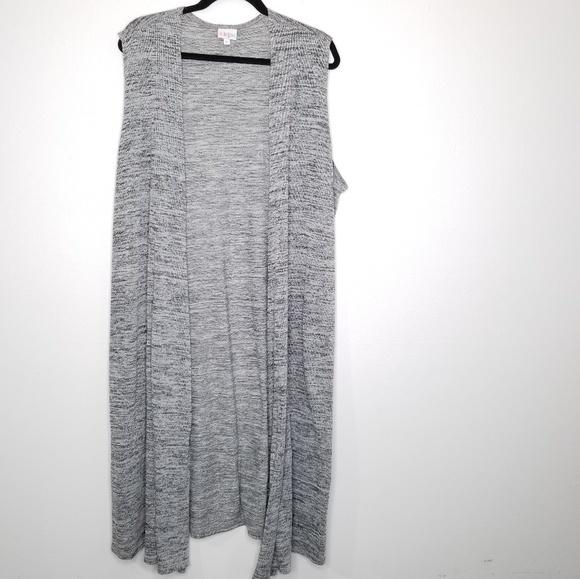 c62b672cb19b01 LuLaRoe Sweaters - Lularoe Joy Duster Long Sleeveless Cardigan